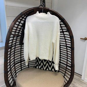 White Sanctuary Turtleneck